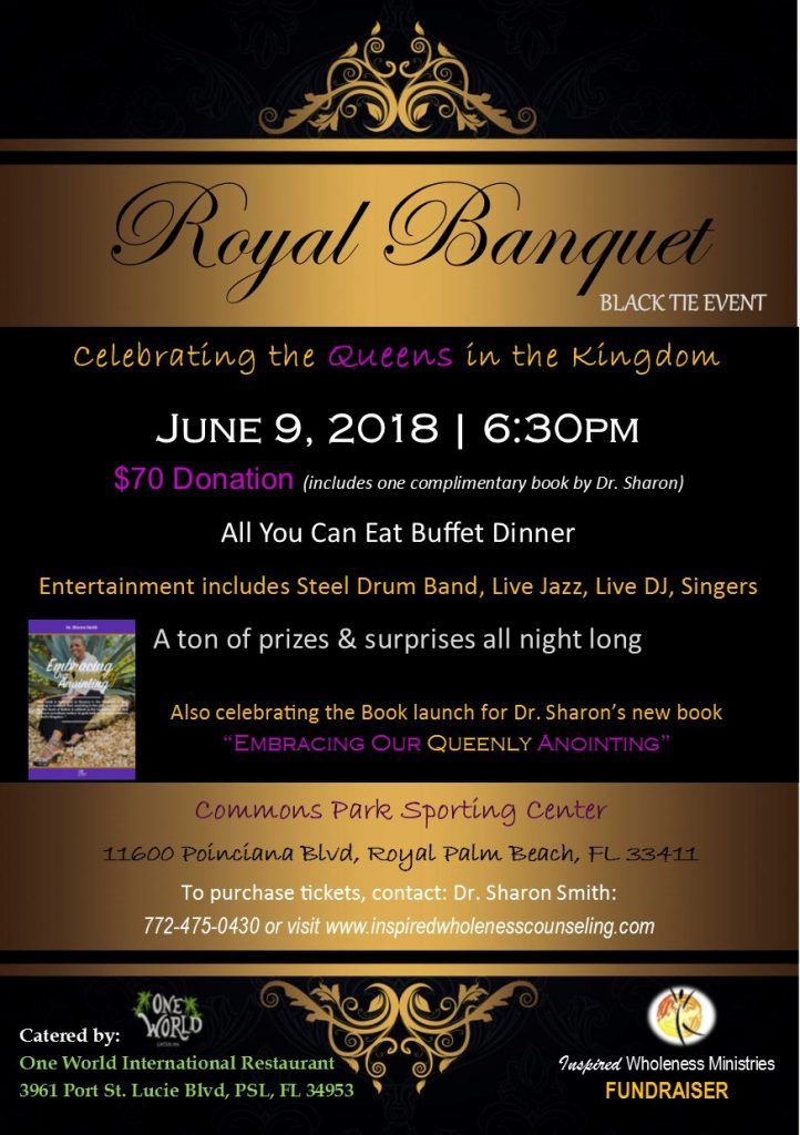 oyal Banquet, Book Launch, and Fundraiser